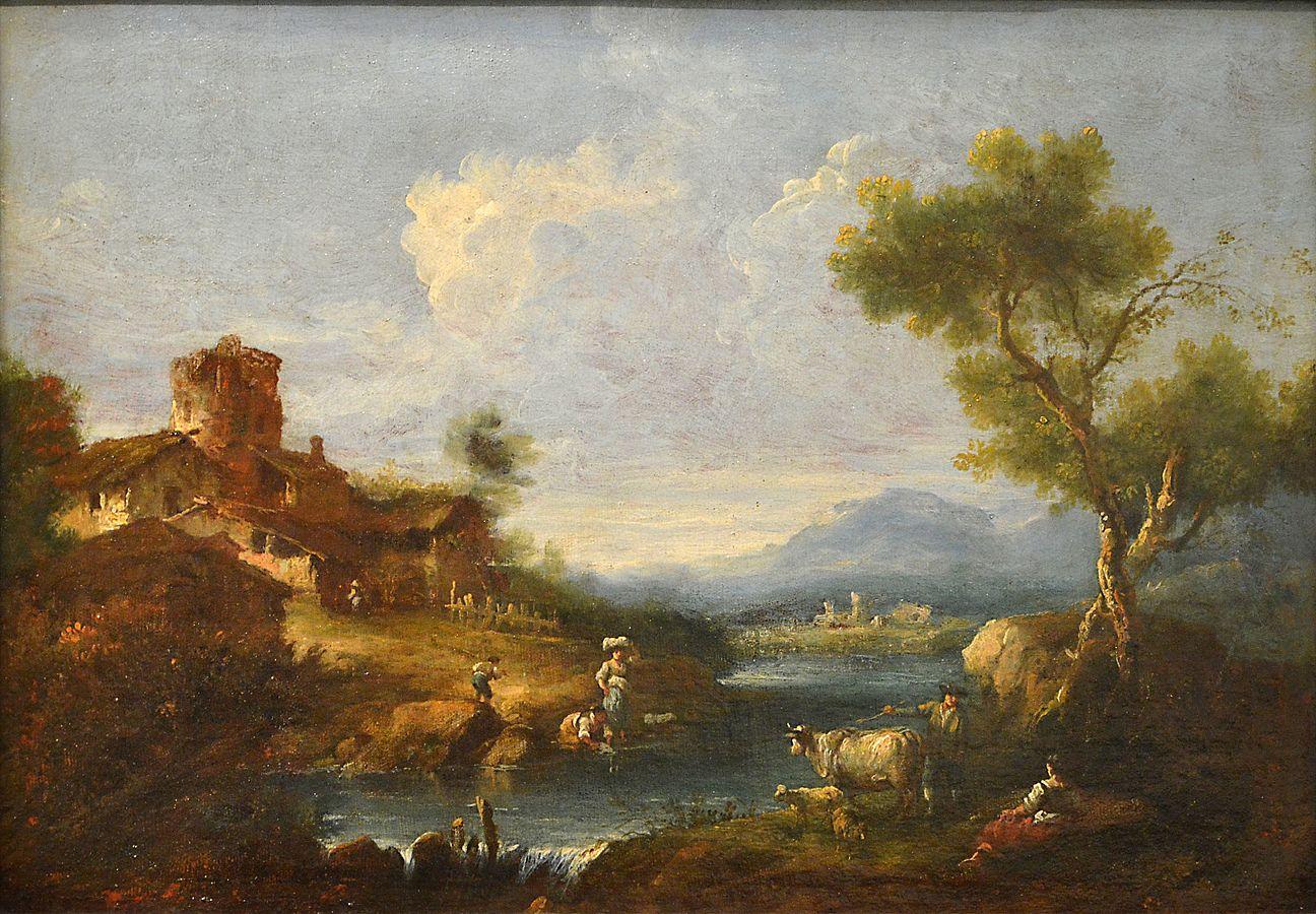 Paysage pastoral