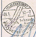 Pelzveredlung Schkeuditz Poststempel 1952.jpg