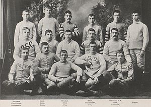 1890 Penn State Nittany Lions football team - Image: Penn State Football 1890