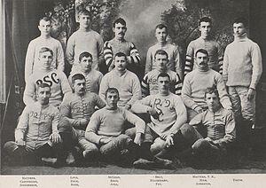 1890 Penn State Nittany Lions football team - Image: Penn State Football 1890