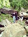 People at Dhani Waterfall, Azad Kashmir 1.jpg