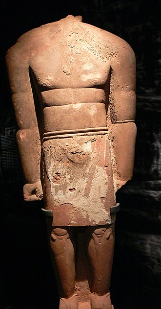 Lihyan - Colossal statue of a Lihyanite king from Dadan, 236 cm, 6th-4rd century BC