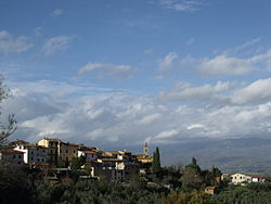 Panorama of Pergine Valdarno