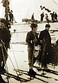 Personnel on skies, Commander Richard E. Byrd's First Antarctic Expedition, 1928-1930 (25381895620).jpg