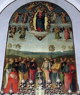 <i>Assumption of the Virgin</i> (Perugino)