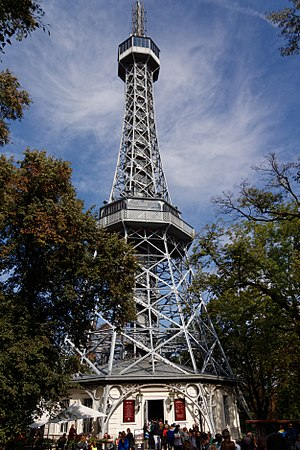 Petřín Lookout Tower - Petřín Lookout Tower at day