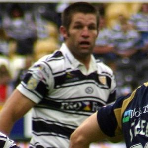 Peter Cusack (rugby league) - Cusack playing for Hull in 2008