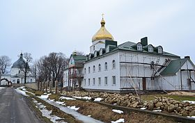 Peter and Paul Monastery in Svitiaz.JPG
