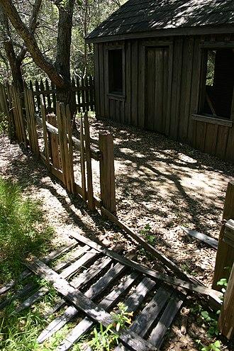Pfeiffer Big Sur State Park - John Pfeiffer's cabin, 2006