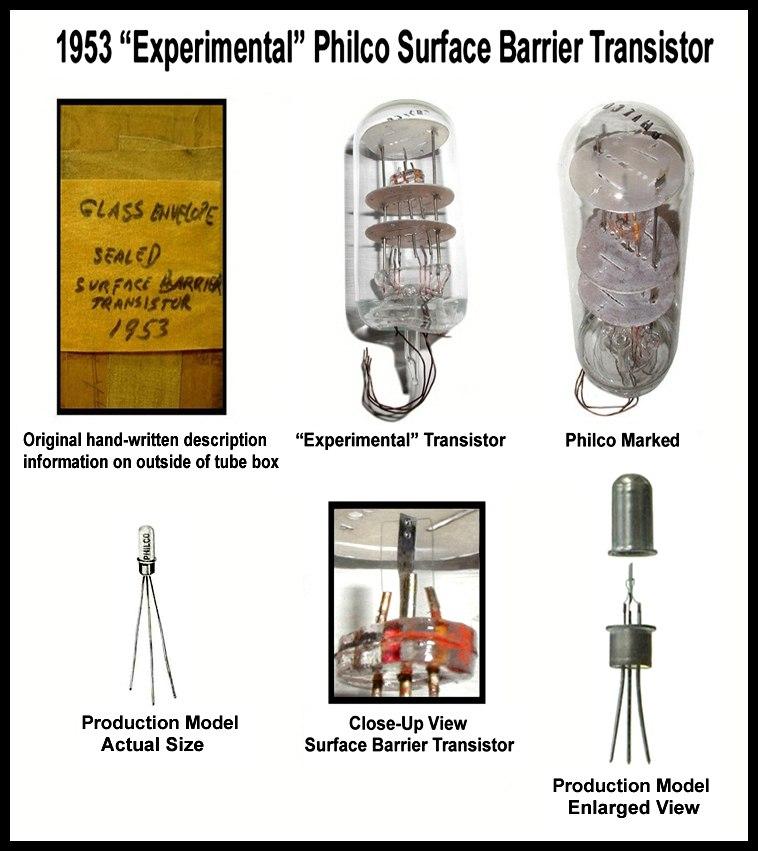 Philco Surface Barrier transistor=1953