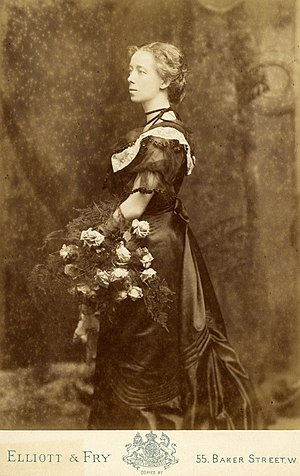Adelaide Anderson - Portrait of Adelaide Anderson, c. 1896