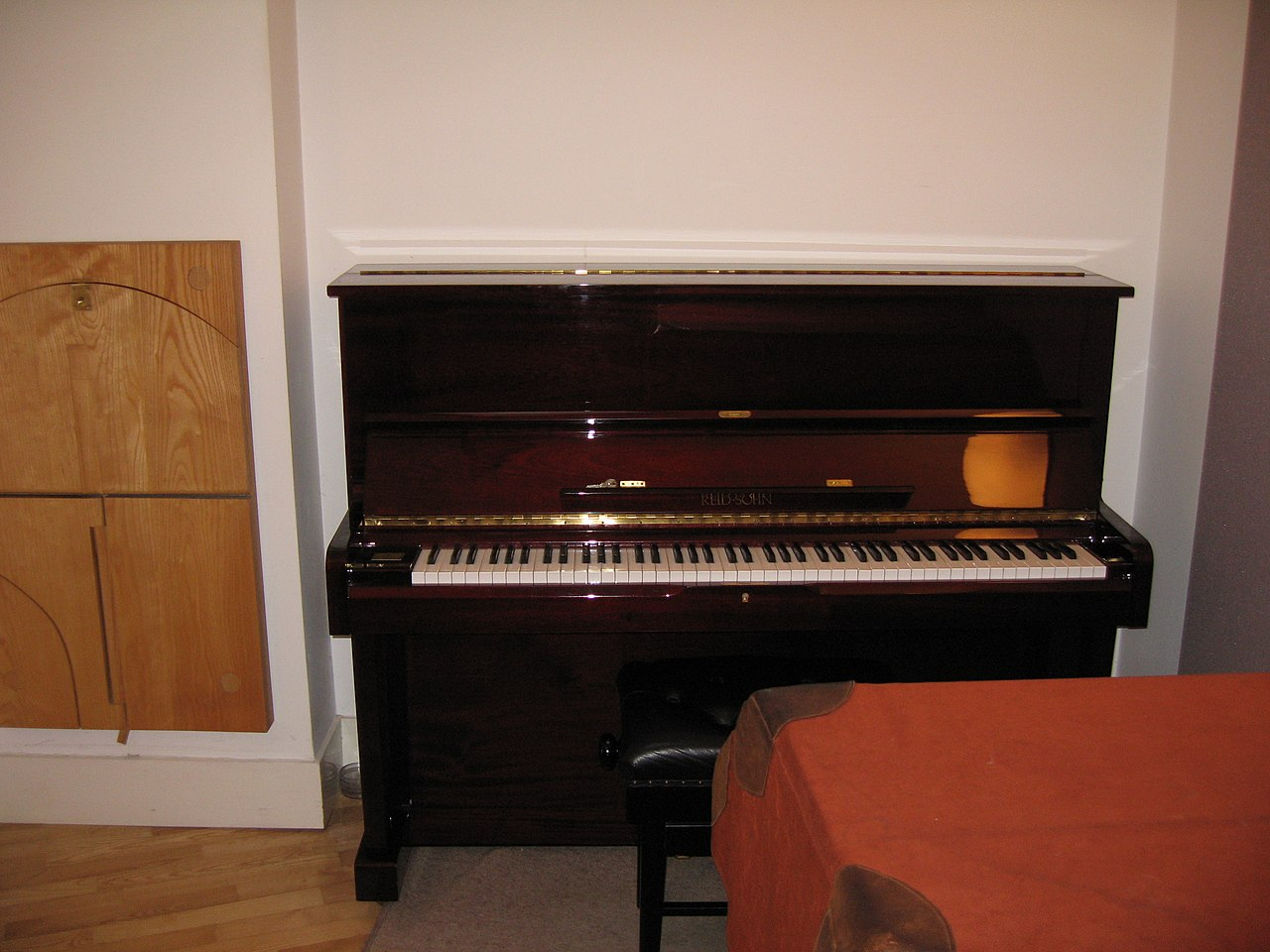 File Piano In Music Room 2 Trinity College Cambridge Jpg
