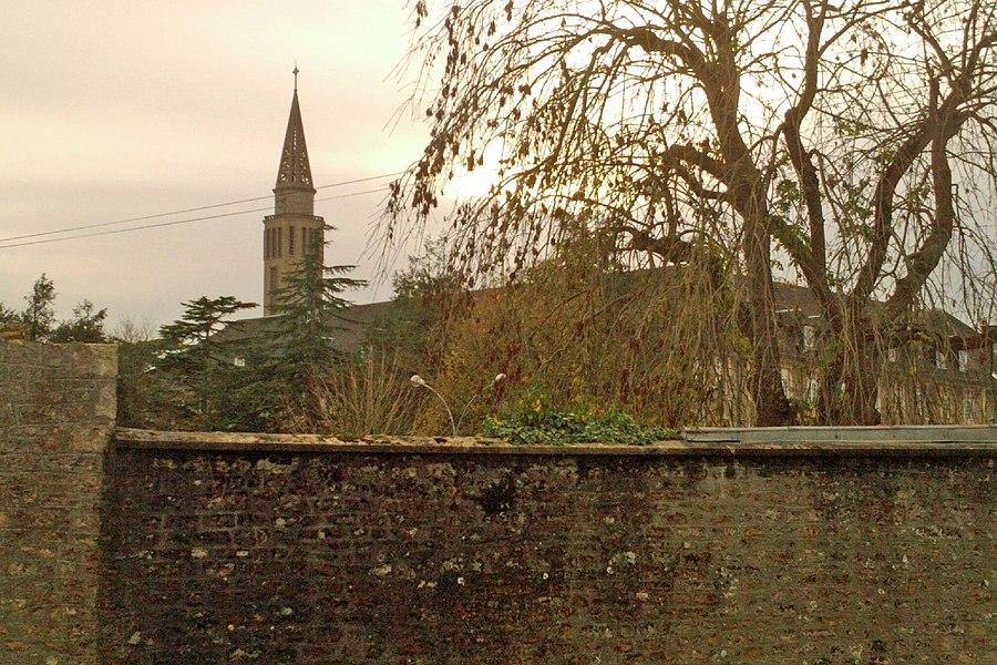 Chapelle du Bon Sauveur au lieu-dit Pont-l'Abbé, dans la commune d'Etienville (Manche)