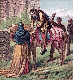 Ælfthryth, wife of Edgar, puts her plan of mur...