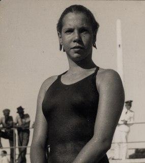 Piedade Coutinho Brazilian swimmer