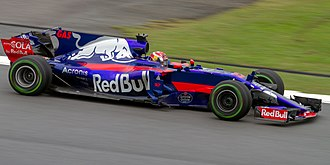 Pierre Gasly - Gasly on debut for Toro Rosso at the 2017 Malaysian Grand Prix.