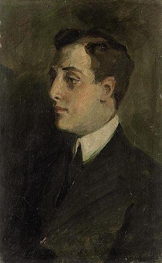 Trubetskoy family - Portrait of Vladimiro Notarbartolo Di Villarosa by Prince Pierre Troubetzkoy (1906)