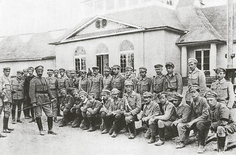 Pierwsza Kompania Kadrowa w Oleandrach (1914)