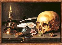 Pieter Claeszoon- Vanitas - Still Life (1625, 29,5 x 34,5 cm).JPG