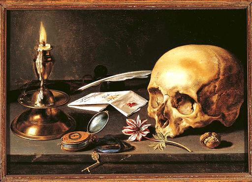 Pieter Claeszoon- Vanitas - Still Life (1625, 29,5 x 34,5 cm)