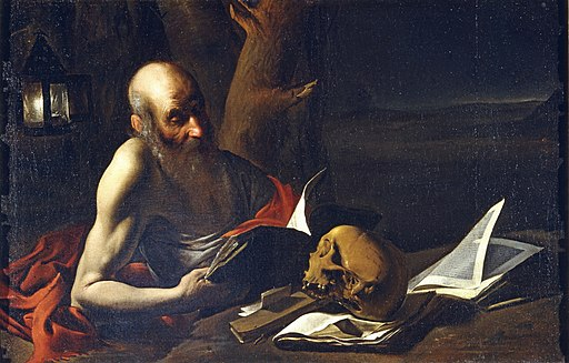 Pietro Paolini (Attr.) - St Jerome in meditation