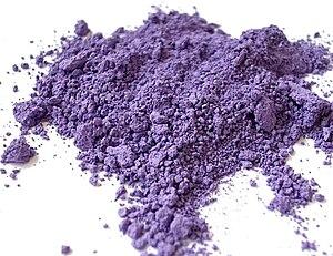 Ultramarine - Image: Pigment Violet 15