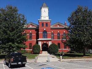 Pike County Courthouse (Built 1895), Zebulon