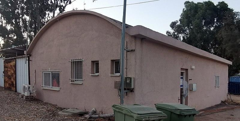 בית הקרור בקיבוץ חולדה