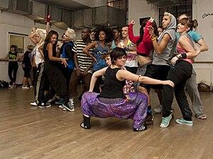 Debbie Moore - Image: Pineapple dancers