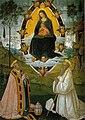 Pinturicchio, madonna tra i santi gregorio e benedetto, 1510-1512, 282x198 cm, pinacoteca civica, san gimignano.jpg