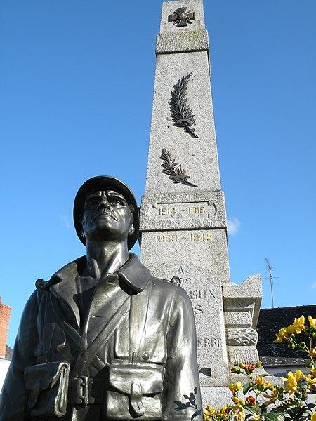 War memorial of Pipriac