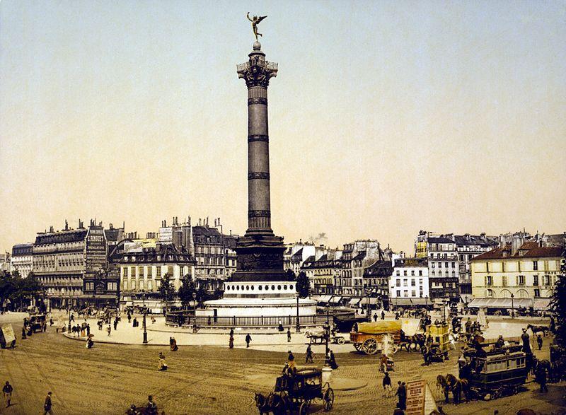 Fichier:Place de la Bastille, Paris, France, ca. 1890-1900.jpg