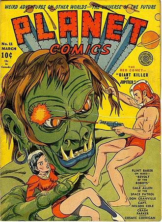 Planet Comics - Image: Planet Comics 11