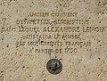 Plaque Alexandre Lenoir, 14 rue Bonaparte, Paris 6.jpg