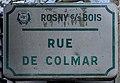 Plaque Rue Colmar - Rosny-sous-Bois (FR93) - 2021-04-15 - 1.jpg