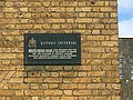 Plaque on the Post Office Depot, Peckham, March 2018.jpg