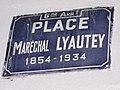 Plaque place Maréchal-Lyautey.jpg