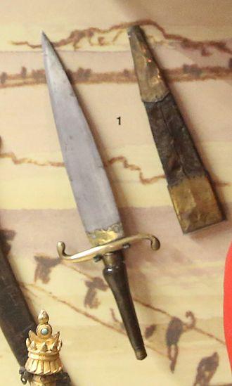 Bayonet - 17th-century plug bayonet