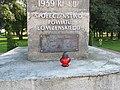 Podlaskie - Wizna - Wizna - Park - Pomnik Obrońców - tabliczka.jpg