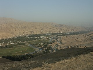 Puli Khumri Place in Baghlan Province, Afghanistan