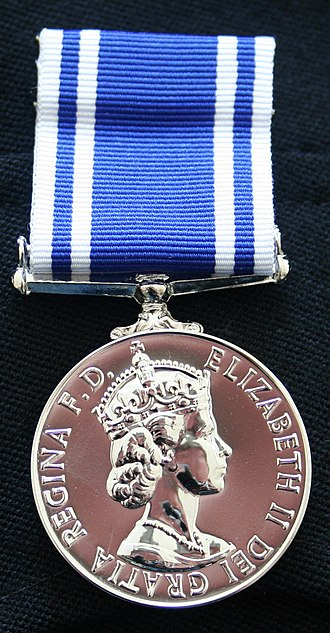 Police Long Service and Good Conduct Medal - Image: Police Long Service and Good Conduct Medal (LSGC)