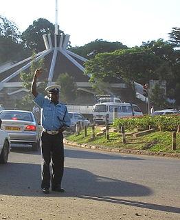 Law enforcement in Kenya