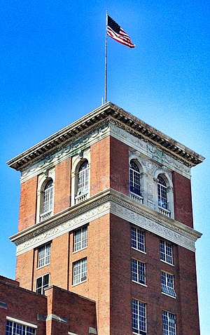 Ponce City Market - Ponce City Market tower, May 2012.