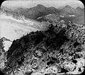 Pont de Mahomet vu du sommet, glacier du Néthou frontière, sept. 1893 (2558258724).jpg