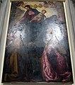 Pontedera, chiesa del crocifisso, int., cigoli, madonna del rosario, 1595, 01.JPG