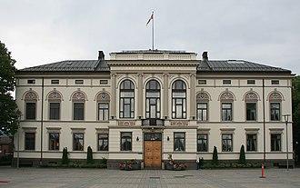 Porsgrunn City Hall - Porsgrunn City Hall in 2007