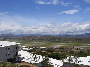 Port Moresby Airport looking west