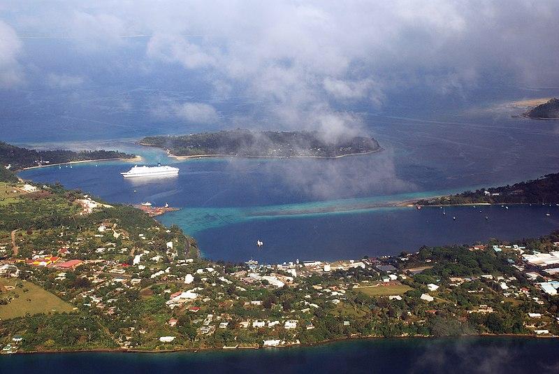 Port Vila aerial