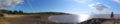 Portishead beach and battery point lighthouse panorama.png