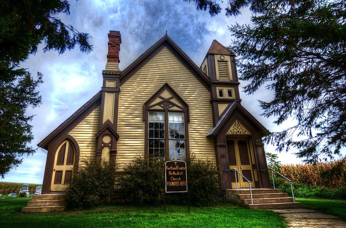 Cost U Less >> Portland Prairie Methodist Episcopal Church - Wikipedia